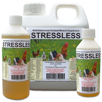 Stressless - vitamin & mineral supplement for poultry