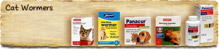 Cat Wormers - Buy Online SPR Centre UK