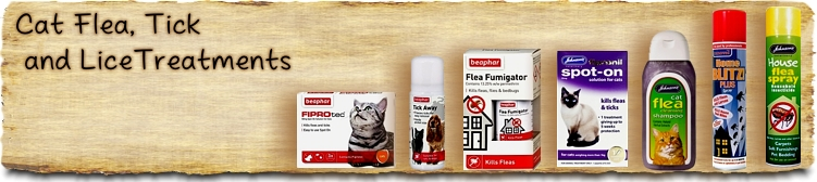 Cat Flea, Tick & Lice Control Products - Buy Online SPR Centre UK