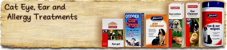 Cat Eye, Ear & Allergy Treatments - Buy Online SPR Centre UK