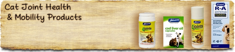 Cat Joint Health & Mobility Products - Buy Online SPR Centre UK