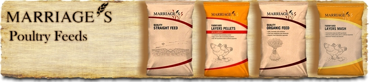 Marriage's Poultry Feeds | Chicken Feed | Organic Feeds | Buy Online SPR Centre UK
