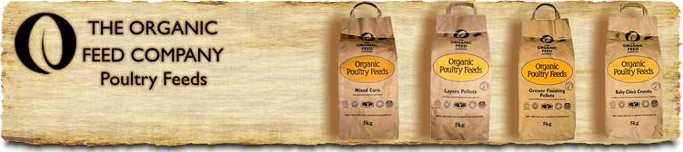The Organic Feed Company - Organic Poultry Feeds - Buy Online SPR Centre UK