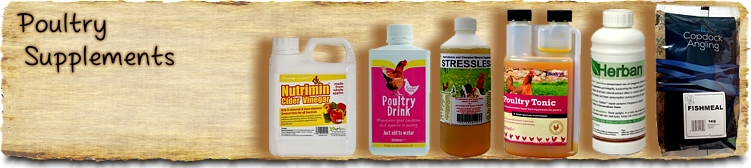 Poultry Supplements, vitamins and tonics - Buy Online SPR Centre UK